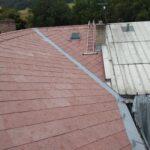 ukázka práce čištění střech